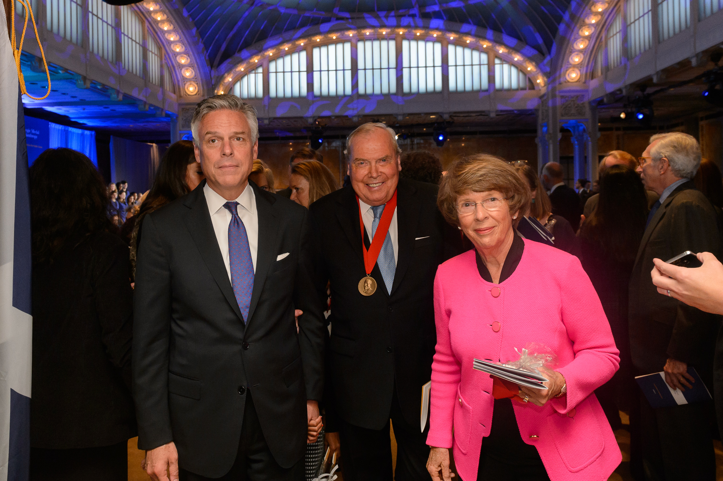 Carnegie Medal of Philanthropy presented to eight individuals and families
