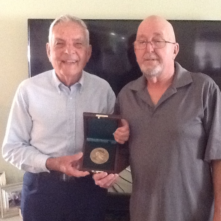 Carnegie Medal presented to Clifford A. Wright
