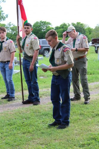 Scouts honor selfless friend
