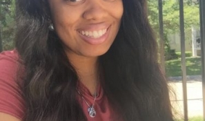Scholarship recipient Niya Townsend