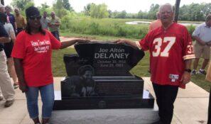 Joe Delaney memorial
