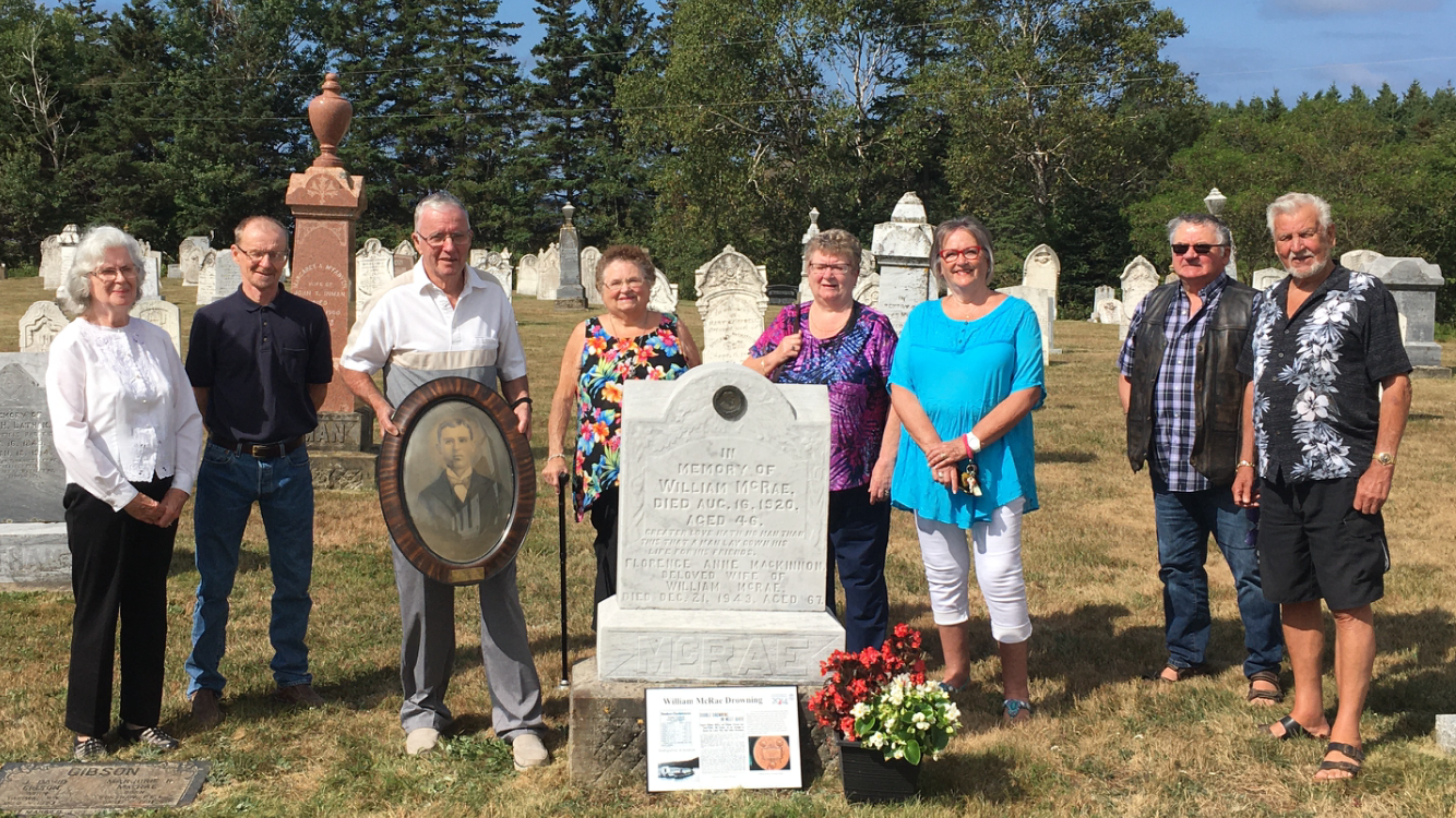 Family gathers for centennial anniversary of Carnegie hero's death